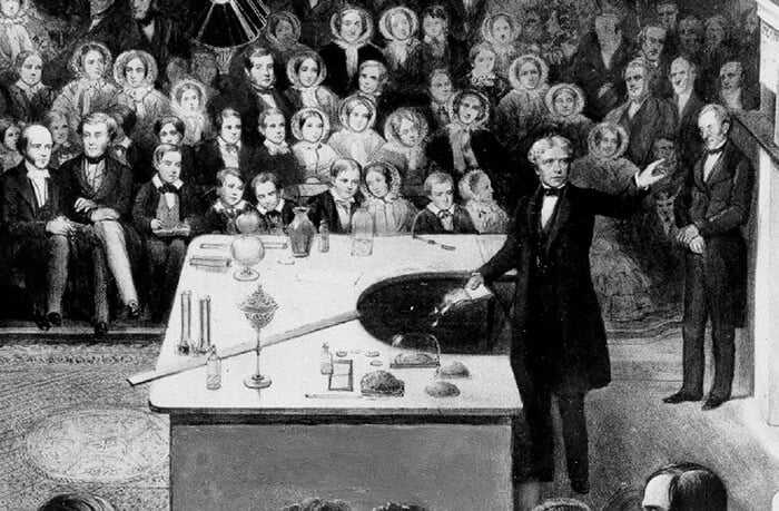 Michael Faraday, 1856, Christmas Lecture