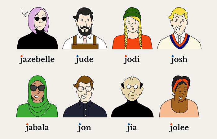 Joe Schome: la gallery di avatar