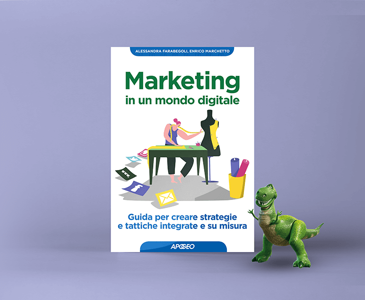 Marketing in un mondo digitale: la copertina del libro