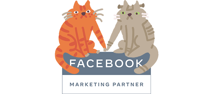 Il badge di facebook marketing partner