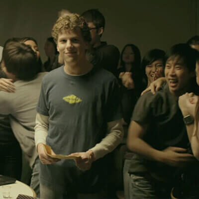 Immagine tratta dal film The Social Network
