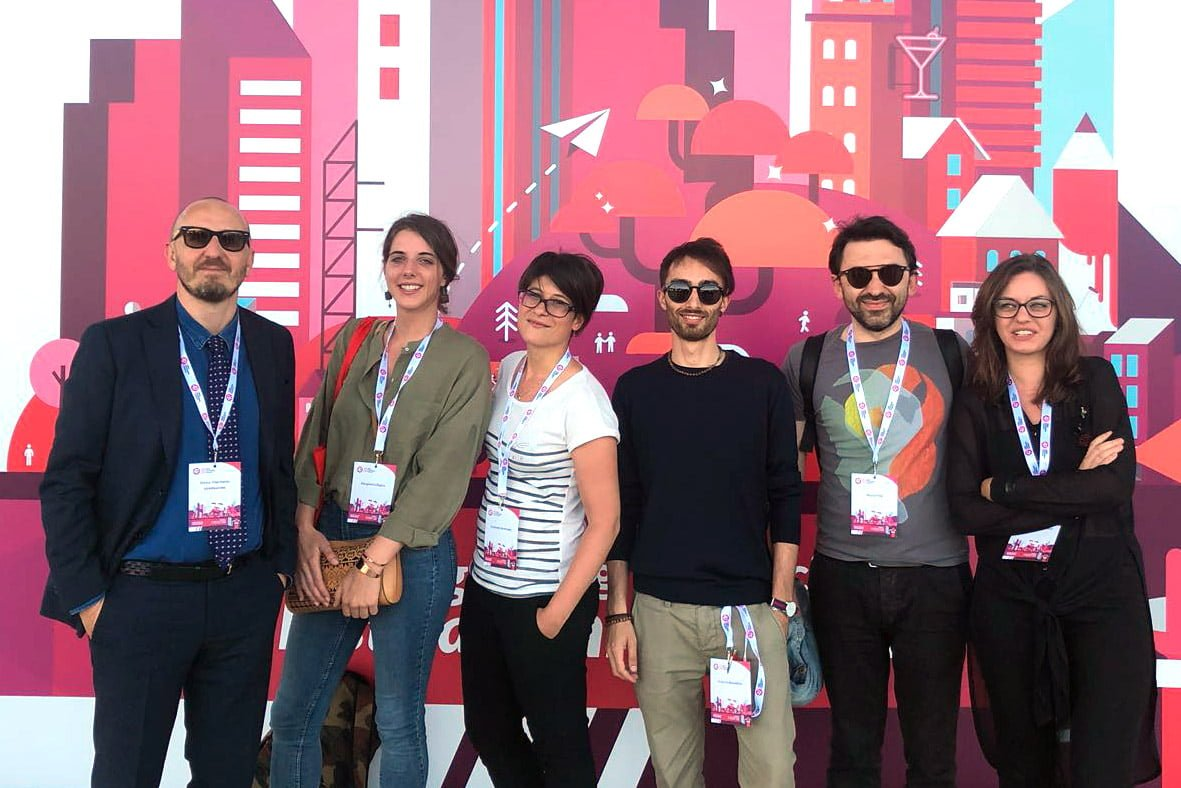 Il team di noiza al web marketing festival 2018