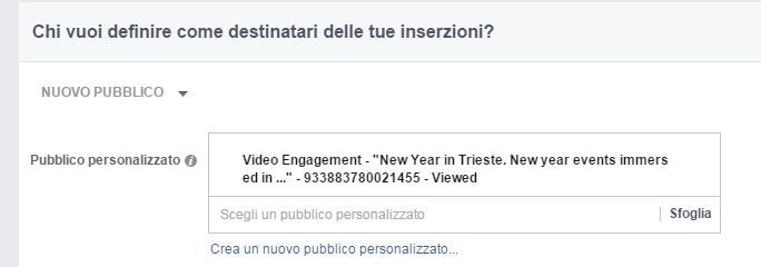 Video Retargeting Facebook
